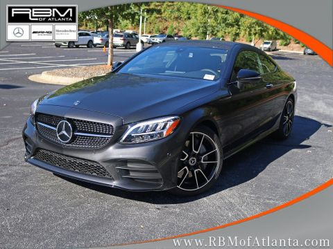 New 2020 Mercedes-Benz C-Class C 300 Coupe