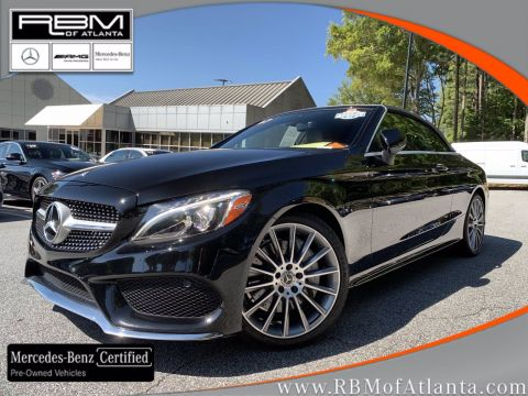 Certified Pre-Owned 2017 Mercedes-Benz C-Class C 300 Cabriolet