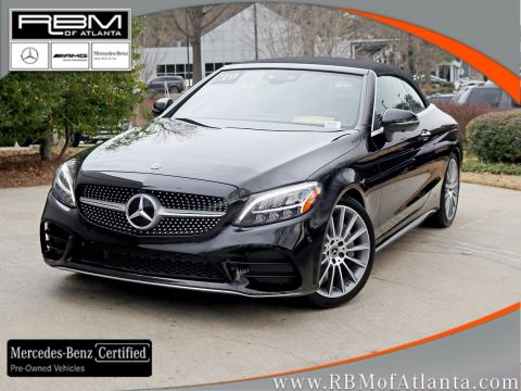 Certified Pre-Owned 2019 Mercedes-Benz C-Class C 300 Cabriolet