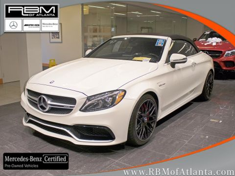 Certified Pre-Owned 2017 Mercedes-Benz C-Class AMG® C 63 S Cabriolet
