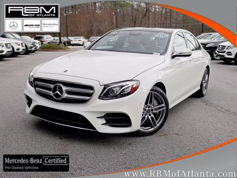 Certified Pre-Owned 2019 Mercedes-Benz E-Class E 300 Sedan