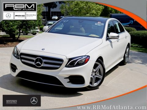 Certified Pre-Owned 2017 Mercedes-Benz E-Class E 300 Sport Sedan