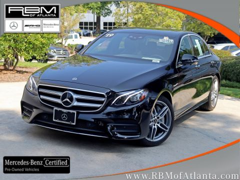 Certified Pre-Owned 2019 Mercedes-Benz E-Class E 450 4MATIC® Sedan
