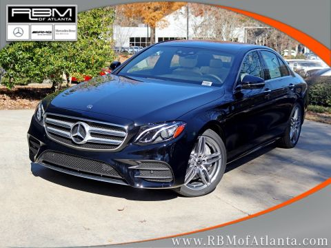 New 2020 Mercedes-Benz E-Class E 350 Sedan