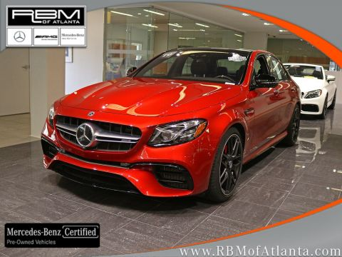 Certified Pre-Owned 2019 Mercedes-Benz E-Class AMG® E 63 S 4MATIC+ Sedan