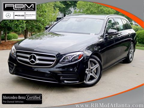 Certified Pre-Owned 2019 Mercedes-Benz E-Class E 450 4MATIC® Wagon